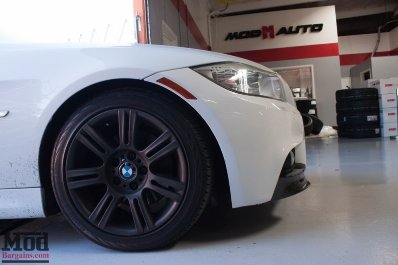 BMW_E90_White_CF_Splitters_Halos_Black_Kidneys-17