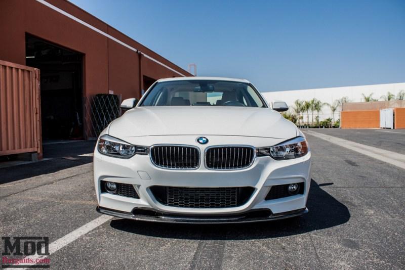 BMW_F30_328d_White_CF_Splitter_Spoiler_Diffuser-3