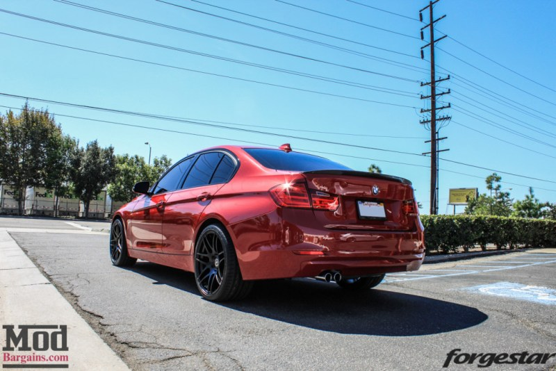 BMW_F30_328i_Red_CF_Forgestar_F14_SemiGlossBlack (13)