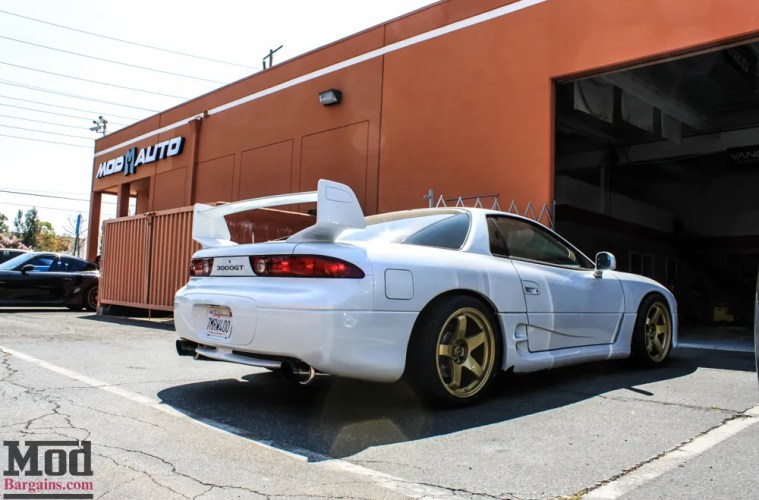 Time Capsule Rare Modded Mitsubishi 3000gt Vr4 Gets Gold