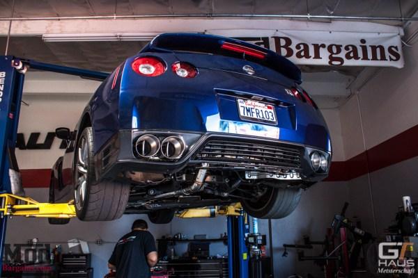 Quick Snap: R35 Nissan GT-R Exhaust by GT Haus Meisterschaft Installed @ ModAuto
