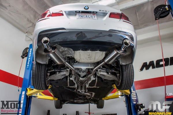 F10 BMW 535i Magnaflow Exhaust Installed @ ModAuto