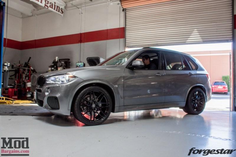 BMW F15 X5 Forgestar F14 MatteBlack (6)