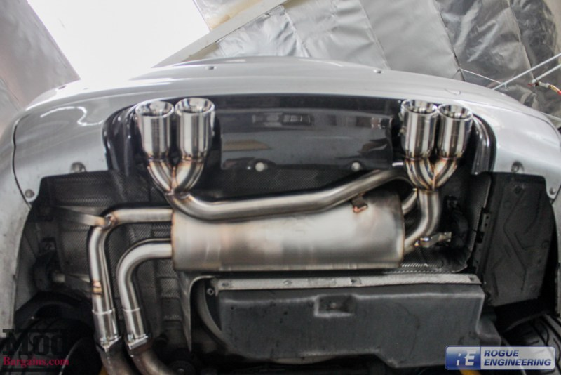 BMW E46 M3 Rogue Engineering El Diablo Exhaust-8