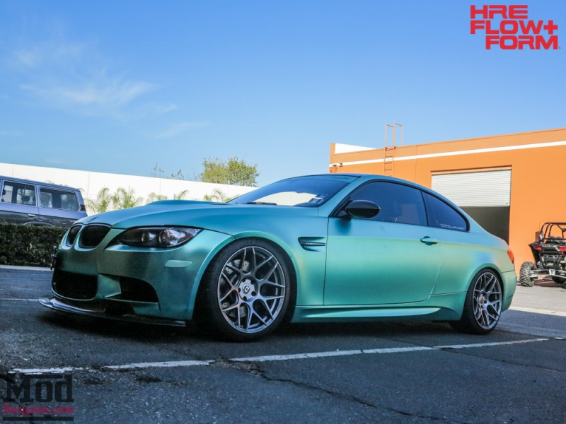 BMW_E92_M3_MatteTeal_HRE_FF01_Fog