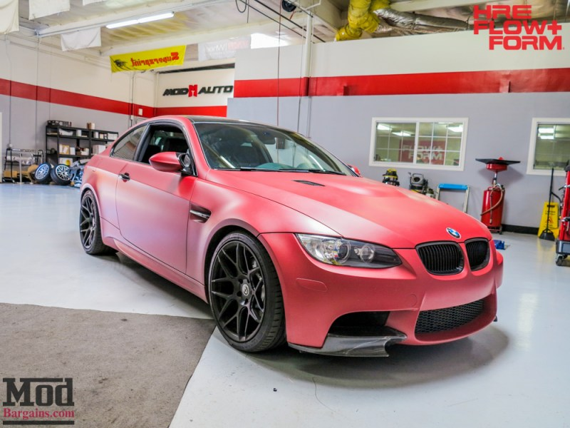 BMW_E92_M3_Matte_Red_Temoor_HRE_FF01_Tarmac (10)