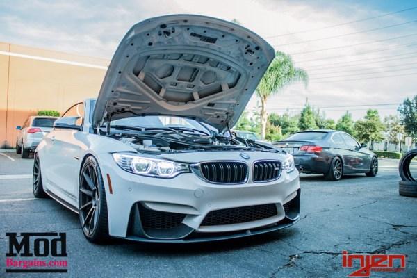 Modded F82 BMW M4 Injen Intake Install @ ModAuto SP1116WB