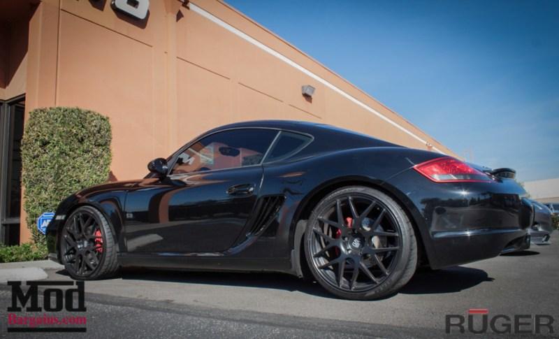 Porsche_987.2_Cayman_S_Ruger_Mesh_MatteBlack_20in_Springs_Exhaust-3