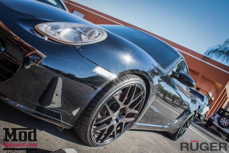 Porsche_987.2_Cayman_S_Ruger_Mesh_MatteBlack_20in_Springs_Exhaust-30