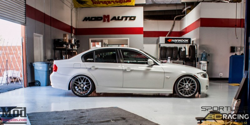BMW_E90_328i_Sportline_8S_BC_Coilovers_BMWExhaust_-14