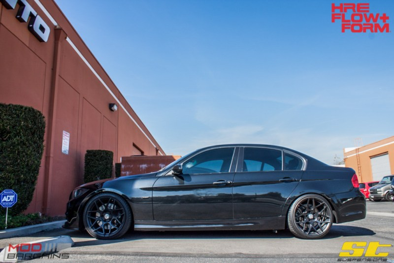 BMW_E90_335i_HRE_FF01_Tarmac_19in_ST_Coilovers-7