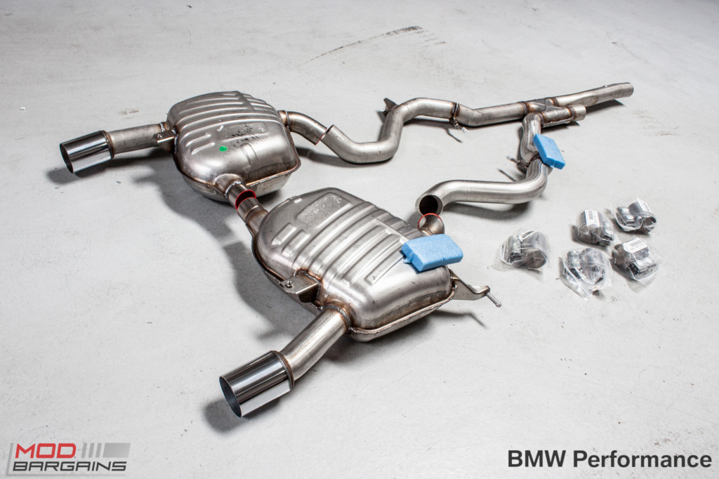 bmw performance exhaust for