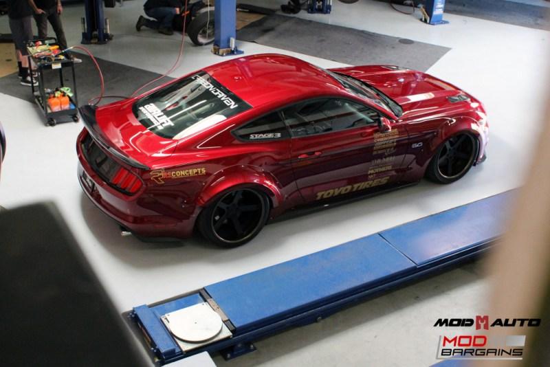 Ford Mustang GT S550 Vortech Airlift Bassani CF Robert Romo (42)