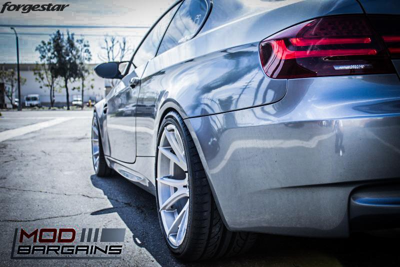 Forgestar CF5V Brushed 19x10et20 19x11et25 on BMW E92 M3 img002