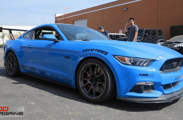 Track Ready S550 Mustang Gt Gets New Forgeline Ga1r Wheels