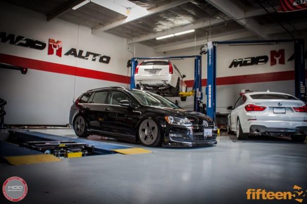 Quick Snap: fifteen52 Tarmac R43 on VW Golf Sportwagen [Mk 7] TDI