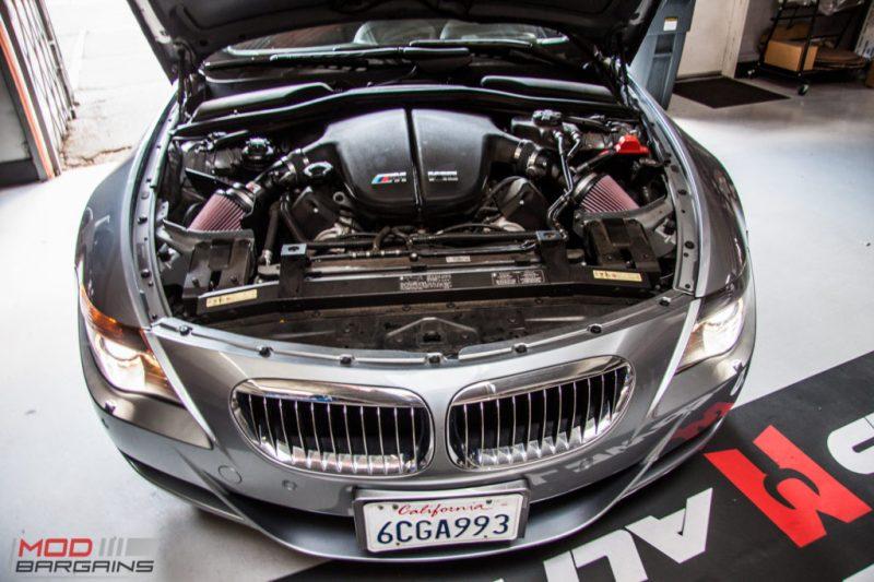 BMW E63 M6 K&N Intakes (3)