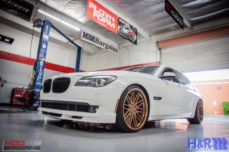 BMW F01 750li HR Springs Rennen Forged Sean Customer (9)