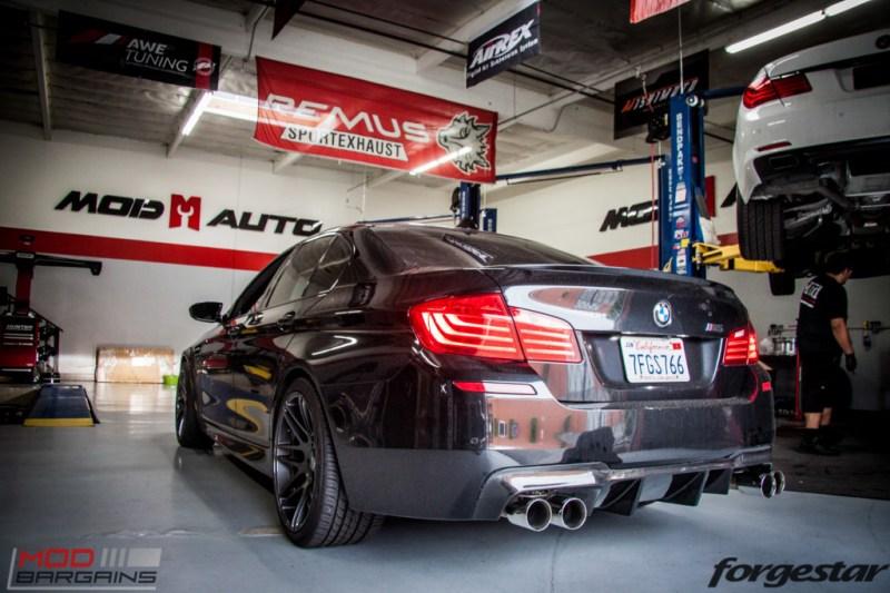 BMW F10 M5 RPI Exhaust Forgestar F14 (3)