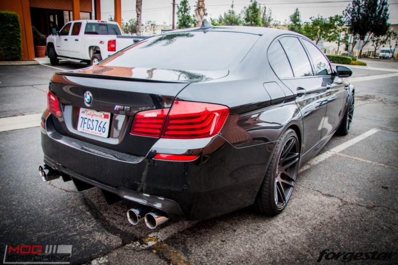 BMW F10 M5 RPI Exhaust Forgestar F14 (9)