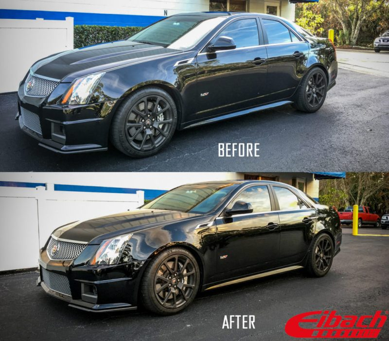 2018 Cadillac Cts V Exterior: Cadillac CTS-V Lowered On Eibach Springs (Before/After
