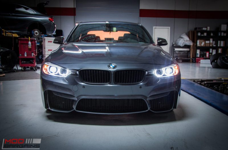 BMW_F30_328i_M4_Bumper_AWE_Quad_Exhuast_Msport_rear_Lowered (8)