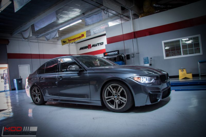 BMW_F30_328i_M4_Bumper_AWE_Quad_Exhuast_Msport_rear_Lowered (9)