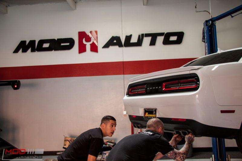 Dodge Challenger RT Borla Exhaust (7)