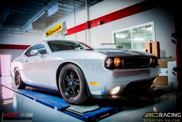 Quick Snap: 14 Dodge Challenger R/T on BC Coilovers + Mopar Wheels