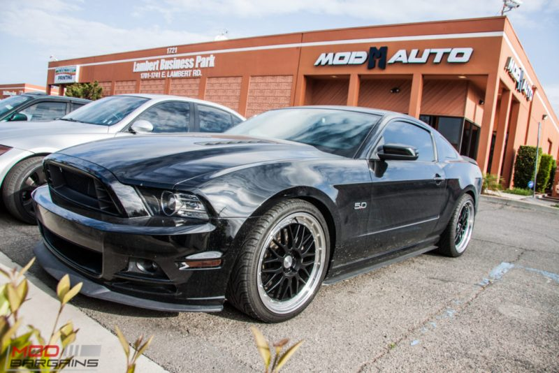 Ford Mustang GT S197 BC Coilovers Eurotek MM6 20in (7)