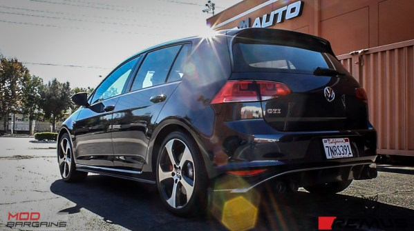 Video: VW Golf GTI Mk 7 Remus Quad Exhaust with Black Tips Installed @ ModAuto