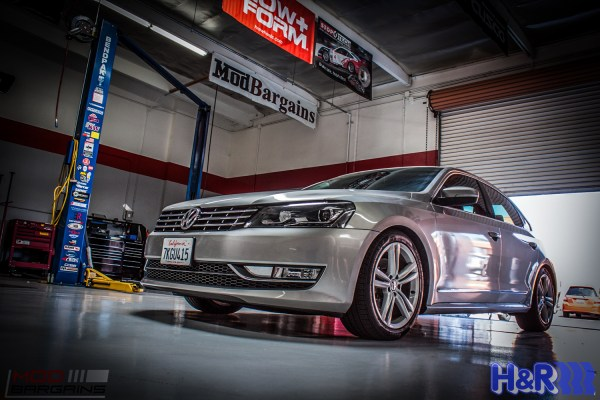 Executive Low: B7 VW Passat on H&R Coilovers @ ModAuto