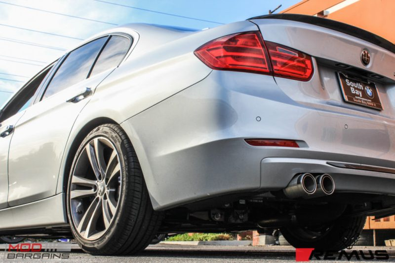 BMW F30 335i Remus Quad Tips (3)