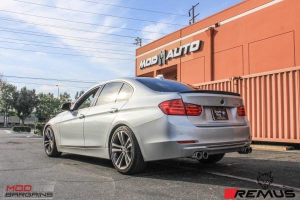 Installed: F30 BMW 335i Quad Exhaust by Remus @ ModAuto