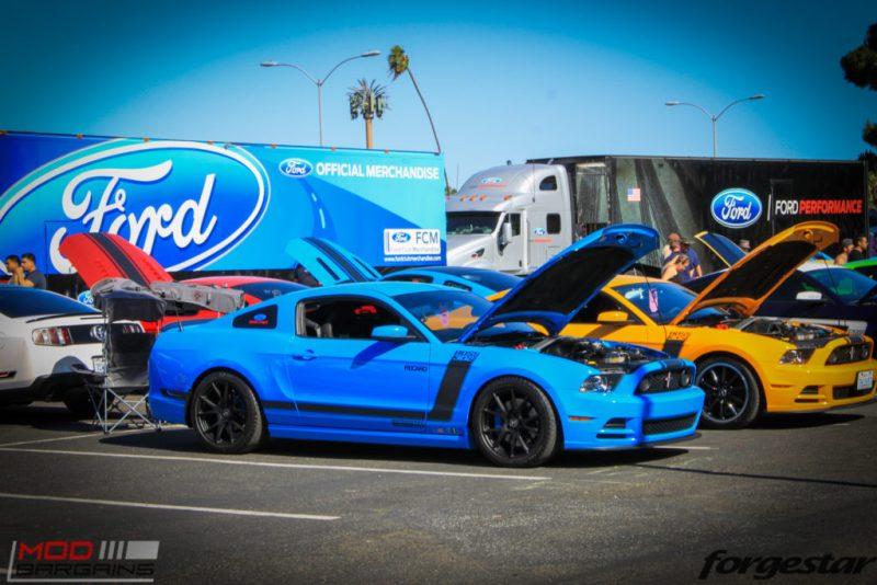 Fabulous Fords 2016 (186) Mustang Forgestar CF5V