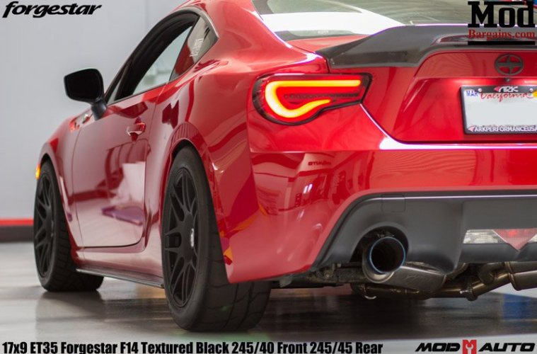 New Sequential Valenti Tail Lights For Scion FRS And