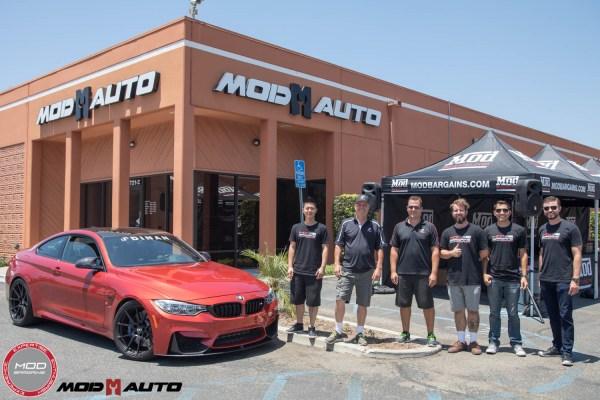 Mod Auto/ModBargains Host DINAN Engineering at the Shop
