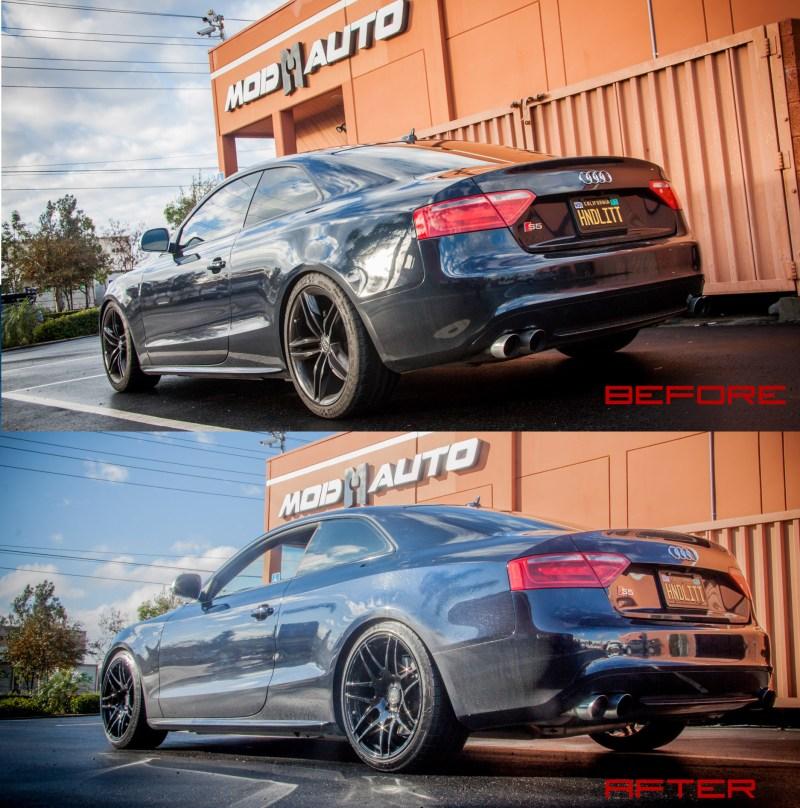 Audi_B8_S5_AWE_Forgestar_F14_Black_34_beforeafter