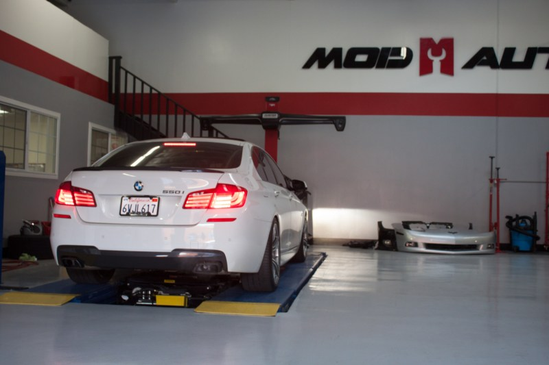 BMW F10 550i Alignment (1)