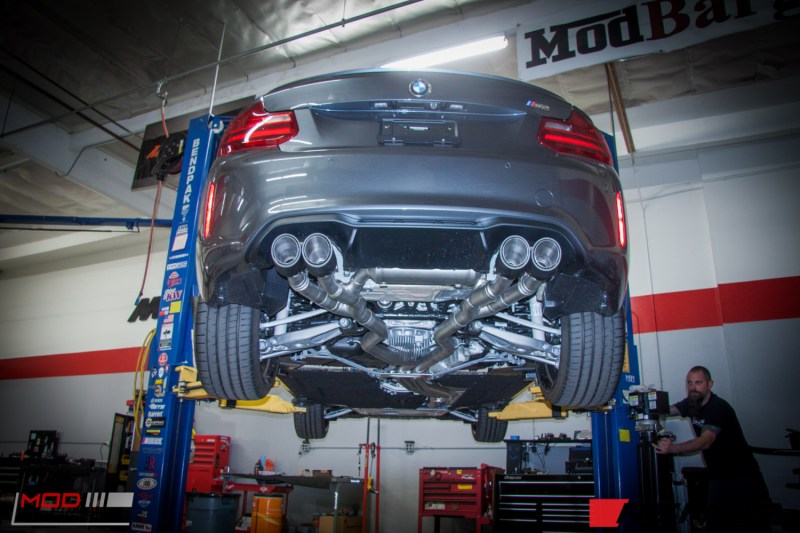BMW F87 M2 Remus Exhaust (3)