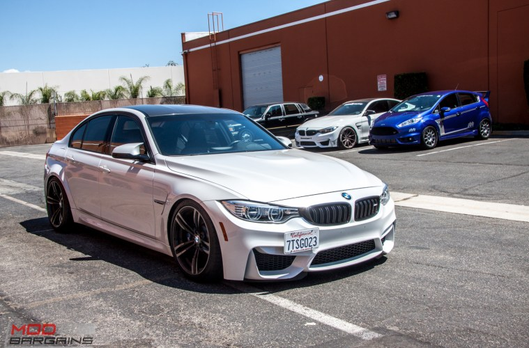 Quick Snap F80 Bmw M3 On H R Springs