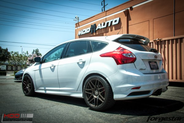 Quick Snap: Ford Focus ST on Forgestar F14 Bronze Burst Wheels