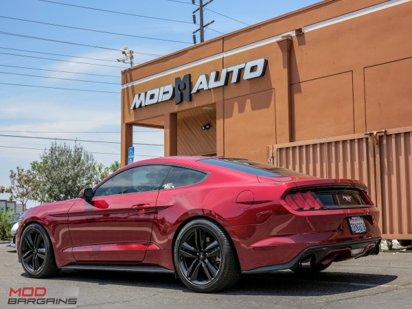 Get Wide: S550 Mustang EcoBoost fills out with H&R Spacers & Eibach Springs