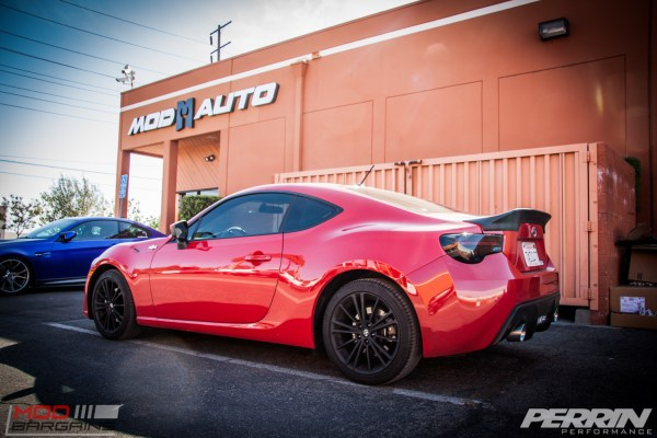 Quick Snap: Scion FR-S Gets Perrin Exhaust & Valenti Tails @ ModAuto