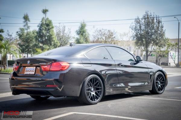 Quick Snap: Black F32 BMW 428i gets Black Sportline 8S Wheels