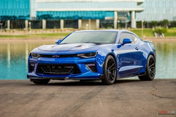 Chevrolet 6th Gen Camaro SS HRE FF04 Tarmac Black Michelin PS4S