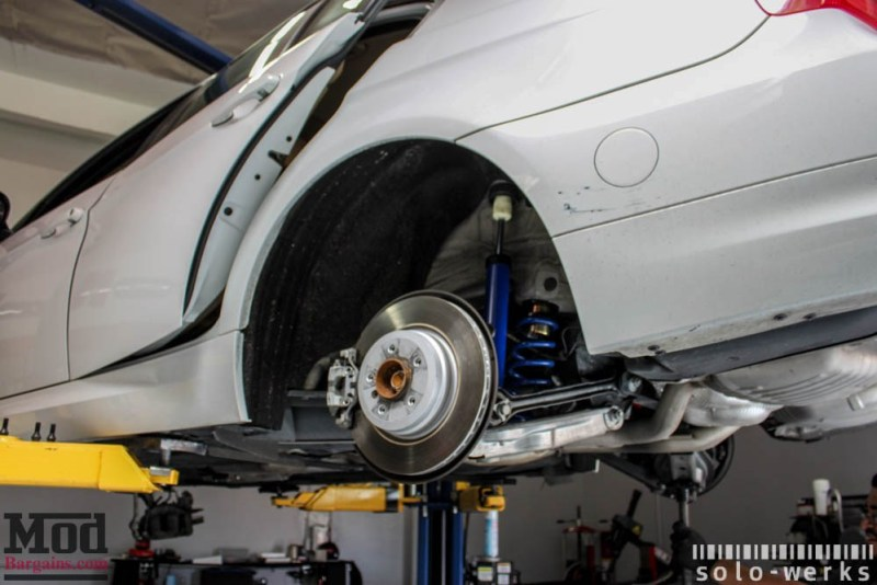 bmw e90 coilover installation solowerks