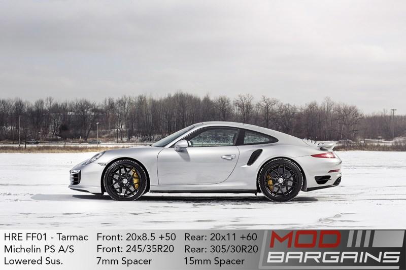 Porsche 911 991 HRE FF01 Tarmac Black Michelin Pilot Sport A/S