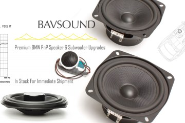 BAVSound Stage 1 Ghost Subwoofer Speaker Upgrades For BMW