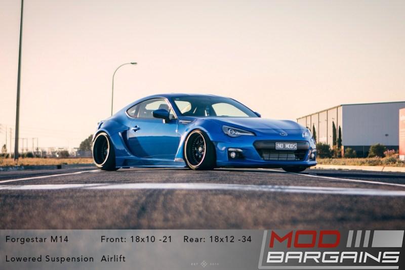 Forgestar M14, BRZ, Subaru BRZ,